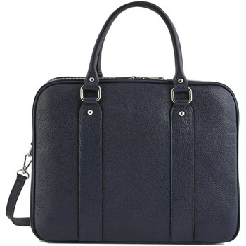 Sacs Porte-Documents / Serviettes Milano Porte documents   Caviar cuir CAVIAR 23D-0CA19121 BLUE