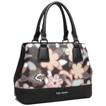 Sacs Femme Sacs porté main Mac Alyster Sac à main  Fragrance noir motif fleur Noir