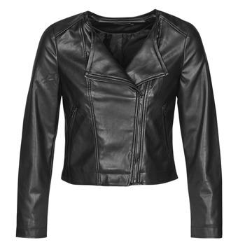Vêtements Femme Vestes en cuir / synthétiques Only ONLDALY Noir