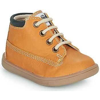 Chaussures Garçon Baskets montantes GBB NORMAN Jaune