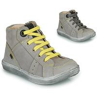 Chaussures Garçon Baskets montantes GBB ANGELITO Gris