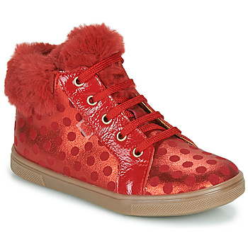 Chaussures Fille Baskets montantes GBB JUNA Rouge
