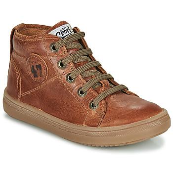 Chaussures Garçon Baskets montantes GBB KELIG Marron
