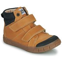 Chaussures Garçon Baskets montantes GBB HENI Cognac