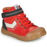 Chaussures Garçon Baskets montantes GBB BAO Rouge