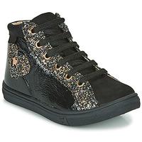 Chaussures Fille Baskets montantes GBB MARTA Noir