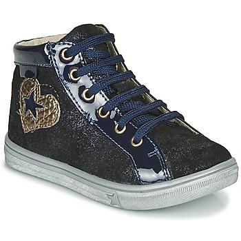 Chaussures Fille Baskets montantes GBB MARTA Bleu