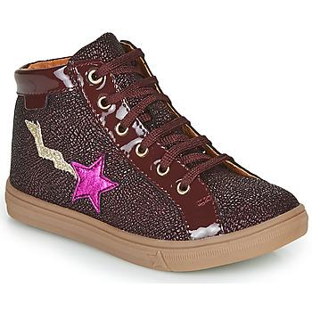 Chaussures Fille Baskets montantes GBB TADEA Bordeaux