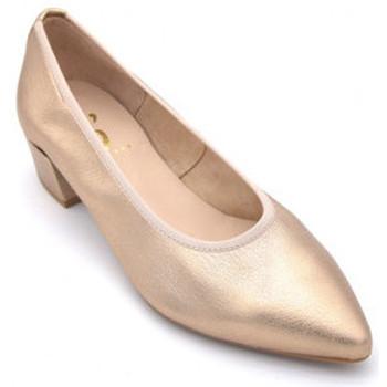 Chaussures Femme Ballerines / babies Folies 002@ Doré