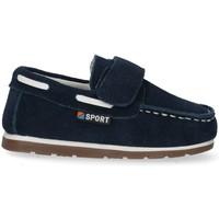 Chaussures Garçon Mocassins Bubble 48474 bleu