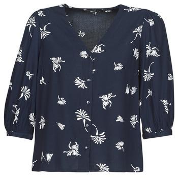 Vêtements Femme Chemises / Chemisiers Vero Moda VMJILLEY Marine