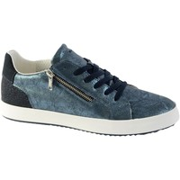 Chaussures Femme Baskets basses Geox Basket Blomiee Navy