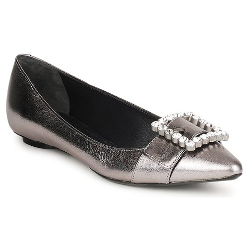 Chaussures Femme Ballerines / babies Marc Jacobs MJ19417 Argent