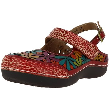 Chaussures Femme Sandales et Nu-pieds Laura Vita bicllyo 04 rouge