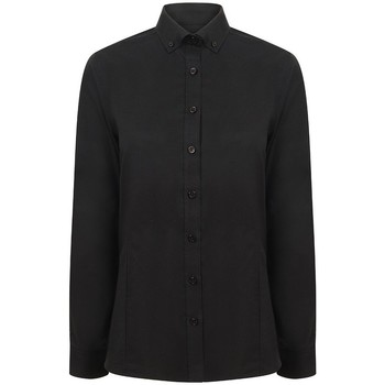 Vêtements Femme Chemises / Chemisiers Henbury Oxford Noir