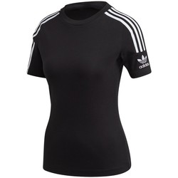 Vêtements Femme T-shirts manches courtes adidas Originals Tight Tee Noir