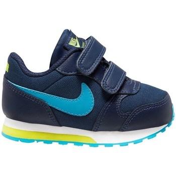 Chaussures Garçon Running / trail Nike MD Runner 2 Bleu marine