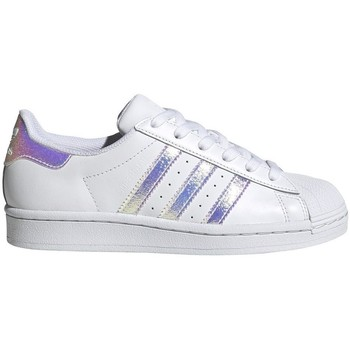 Chaussures Enfant Baskets basses adidas Originals Superstar J Blanc