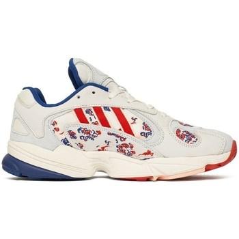 Chaussures Homme Baskets basses adidas Originals Yung 1 Blanc, Rouge, Bleu