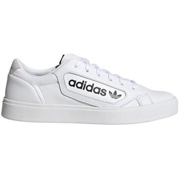Chaussures Femme Baskets basses adidas Originals Sleek W Blanc