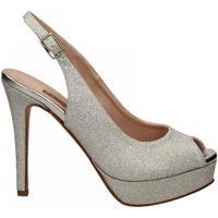 Chaussures Femme Sandales et Nu-pieds Albano MESH argento