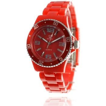 Montres & Bijoux Femme Montres Analogiques Sc Crystal MF172-rouge Rouge