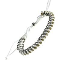 Montres & Bijoux Femme Bracelets Sc Crystal b568blanc Blanc