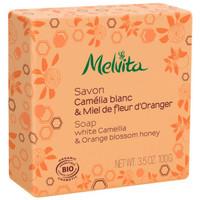 Beauté Femme Bio & naturel Melvita SAVON Bio Camélia Blanc & Miel de Fleur d'Oranger