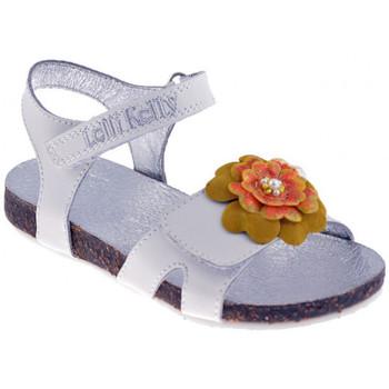 Chaussures Fille Sandales et Nu-pieds Lelli Kelly 7516Sandales blanc