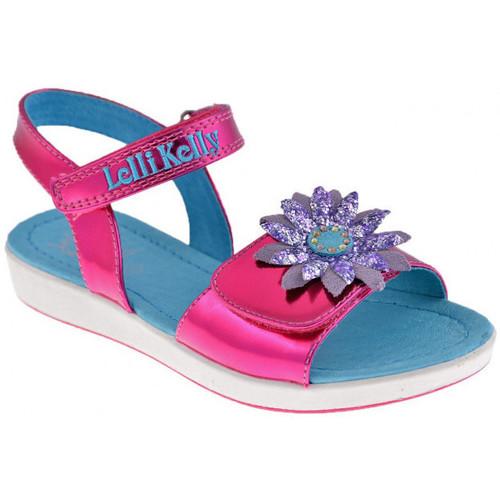 Chaussures Fille Sandales et Nu-pieds Lelli Kelly 4500 Zoo Sandales