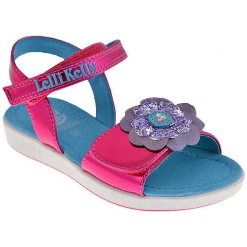 Chaussures Fille Sandales et Nu-pieds Lelli Kelly 4502 Zoo Sandales rose
