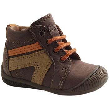 Chaussures Garçon Boots Aster BADOO MARRON