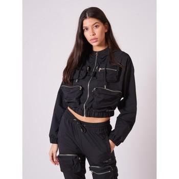Vêtements Femme Vestes de survêtement Project X Paris Veste Légère Noir