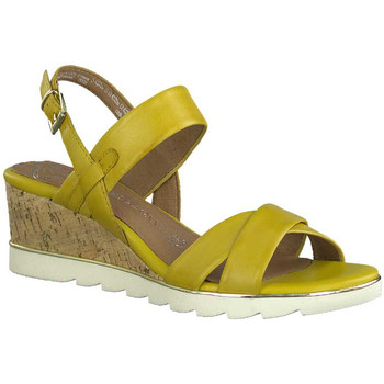 Chaussures Femme Sandales et Nu-pieds Marco Tozzi 28724-24 Jaune
