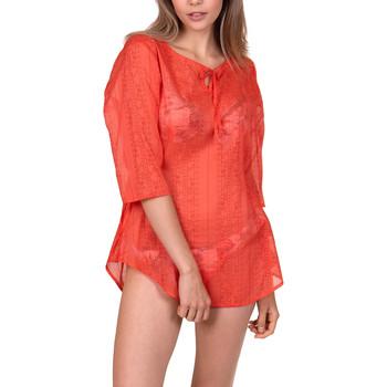 Vêtements Femme Tuniques Lisca Tunique de plage Jamaica Corail
