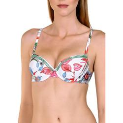 Vêtements Femme Maillots de bain séparables Lisca Haut maillot de bain préformé Jamaica Blanc