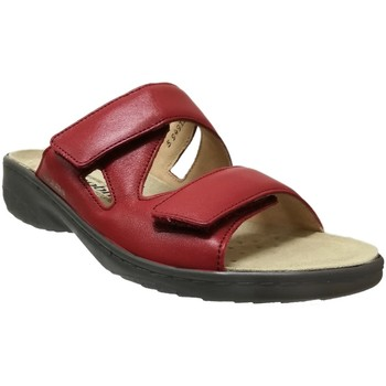 Chaussures Femme Mules Mobils By Mephisto Geva Rouge cuir