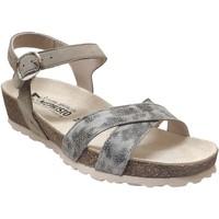 Chaussures Femme Sandales et Nu-pieds Mephisto Stela gris cuir