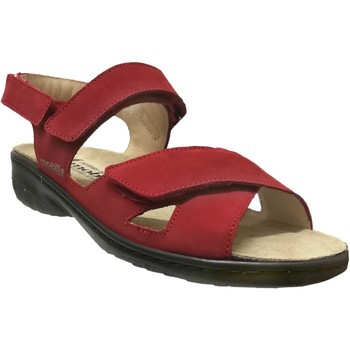 Chaussures Femme Sandales et Nu-pieds Mobils By Mephisto Geryna Rouge nubuck