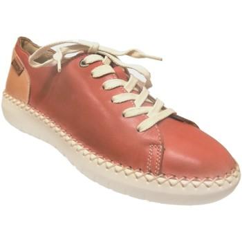 Chaussures Femme Baskets basses Pikolinos W6b-6836 mesina Orange cuir