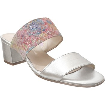Chaussures Femme Mules Brenda Zaro F3652 Platine cuir