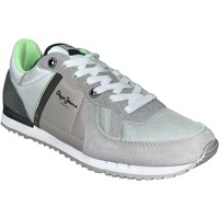 Chaussures Homme Baskets basses Pepe jeans Tinker zero ath Gris clair