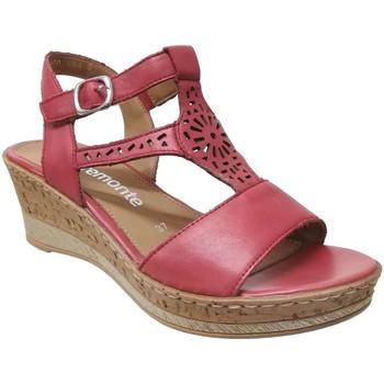 Chaussures Femme Sandales et Nu-pieds Remonte Dorndorf D4753 Rouge cuir