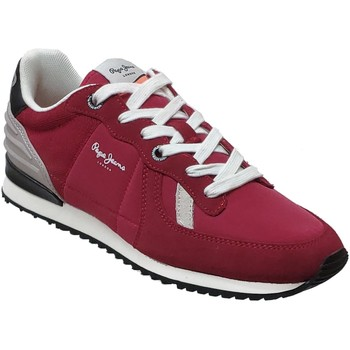 Chaussures Homme Baskets basses Pepe jeans Tinker wer Rouge