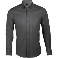 Vêtements Homme Chemises manches longues Sols BUSINESS MEN Gris
