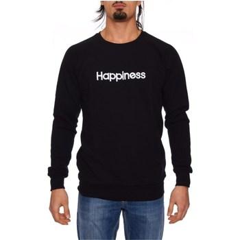 Vêtements Homme Sweats Happiness CREW_HAP NOIR