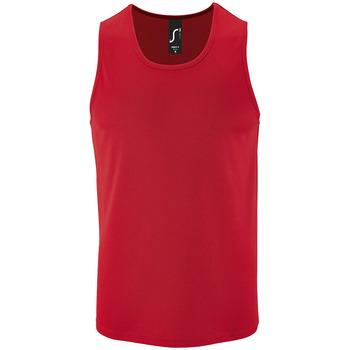 Vêtements Homme Débardeurs / T-shirts sans manche Sols SPORT TT MEN Rojo