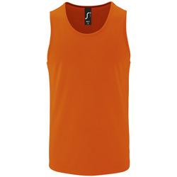 Vêtements Homme Débardeurs / T-shirts sans manche Sols SPORT TT MEN Naranja