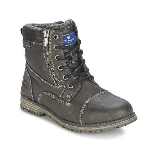 Chaussures Garçon Boots Tom Tailor CRIMI Gris