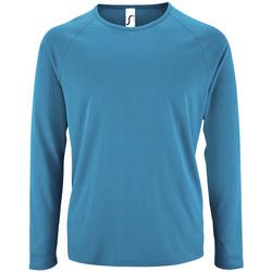 Vêtements Homme T-shirts manches longues Sols SPORT LSL MEN Azul